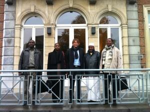Visite d'une délégation de l'ANGESEM et de la Commune 2 de Bamako au Gouvernement Wallon (Namur, Novembre 2012)