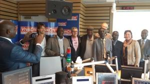 """SPGE: émission RTBF """"Liège Aller Retour"""" avec la délégation malienne (3 octobre 2013)"""