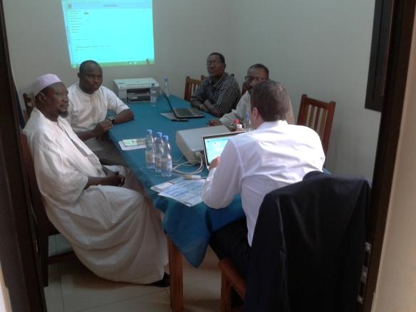 SPGE au Mali: réunion du groupe suivi des investissements