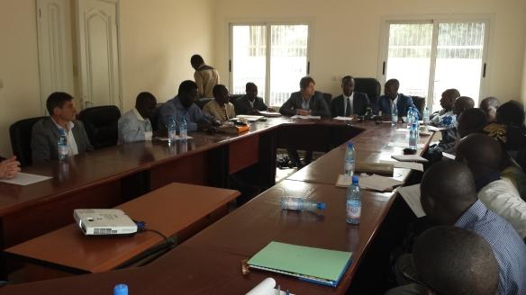 SPGE au Mali: conférence de presse
