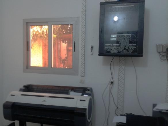 SPGE: installation du matériel innformatique à l'ANGESEM