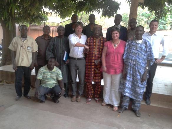 Avril 2014: Mission de la SPGE au Mali