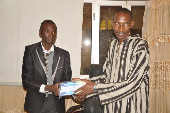 SPGE au Mali: présentation des supports de communication