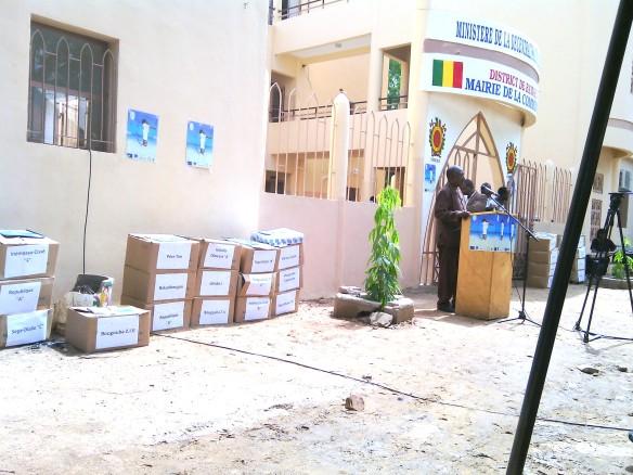 SPGE au Mali: dossier de presse